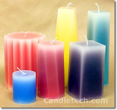 Как сделать формы своими руками для свечей
