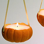 Mini Pumpkin Candles