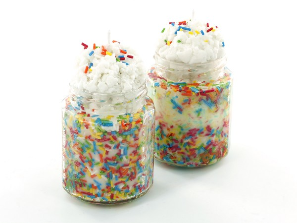 Learn how to make birthday cake candles.