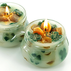 Pot O' Gold Chunk Candles