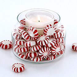 Peppermint Candle Holder
